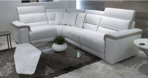 angle cuir arizona relaxation lectrique personnalisable sur univers du cuir. Black Bedroom Furniture Sets. Home Design Ideas