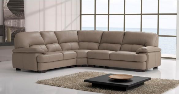 Canapé Angle panoramique Cuir pour 2640€