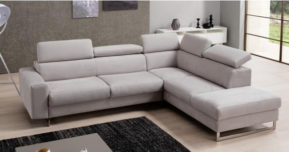 natacha angle convertible rapido micronabuck ou cuir personnalisable sur univers du cuir. Black Bedroom Furniture Sets. Home Design Ideas