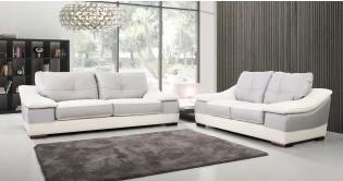 Salon En Cuir Moderne Les Modèles De Univers Du Cuir - Canapé cuir moderne design