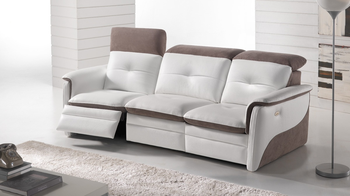 amalia home cinma relaxation lectrique - Canape Cuir Home Salon