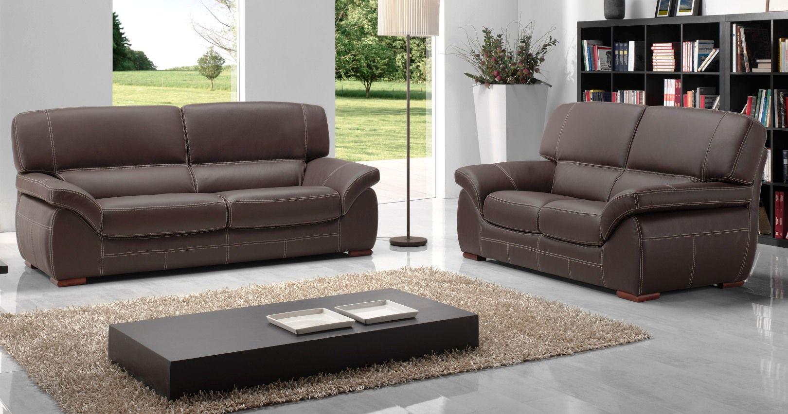 salon angelo cuir vachette ou buffle sur univers du cuir. Black Bedroom Furniture Sets. Home Design Ideas