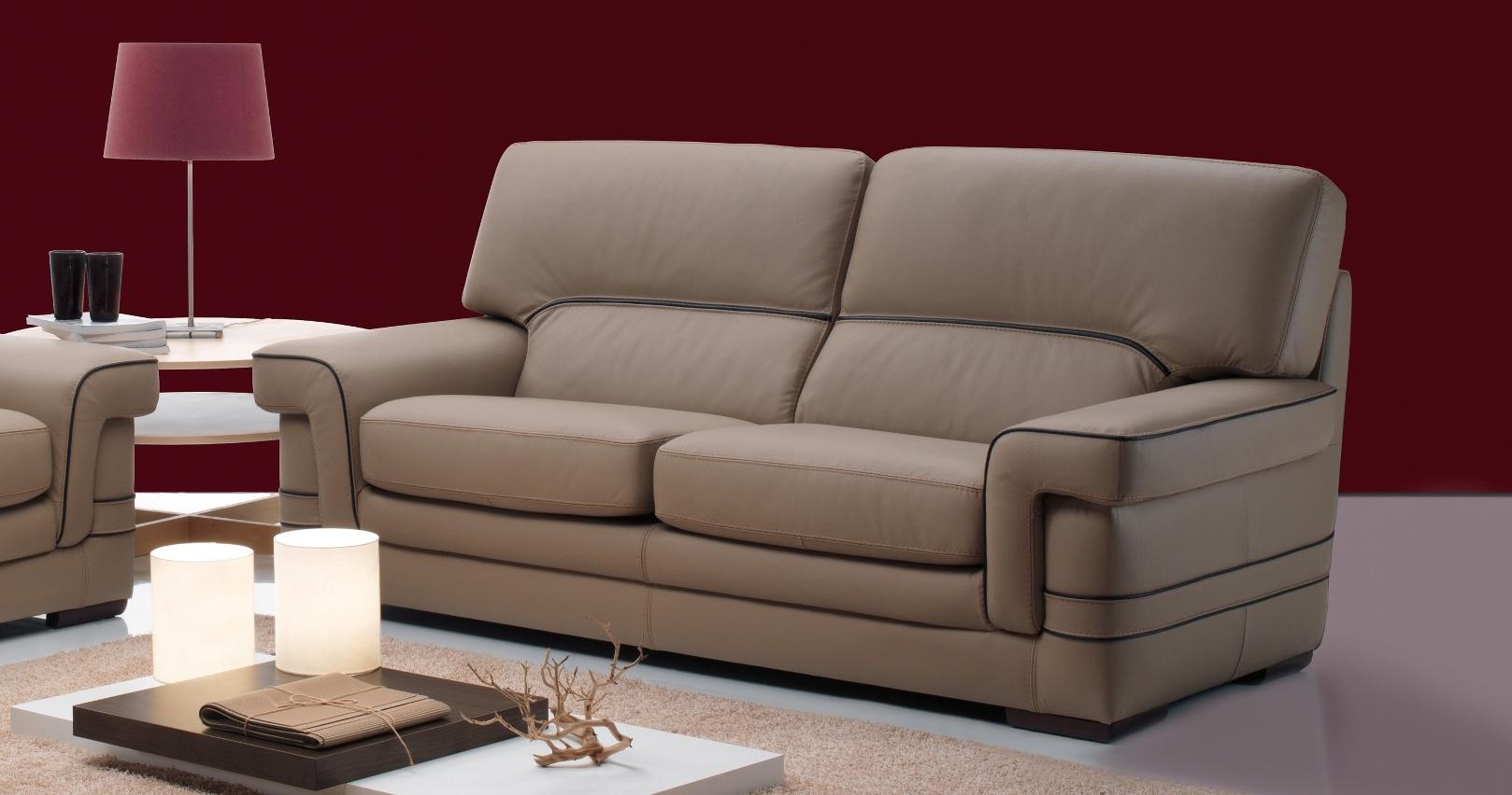 canap moderne italie 100 cuir de buffle hendrix. Black Bedroom Furniture Sets. Home Design Ideas