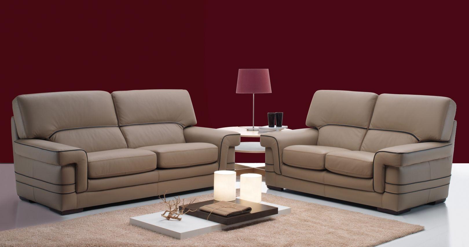 ensemble canap s 3 2 en cuir buffle hendrix. Black Bedroom Furniture Sets. Home Design Ideas
