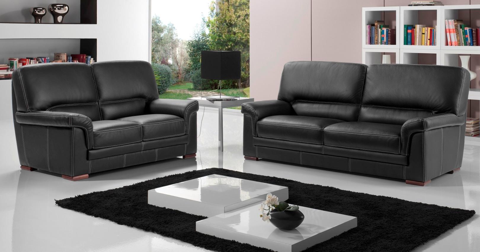 milan salon 3 2 cuir buffle premium personnalisable sur