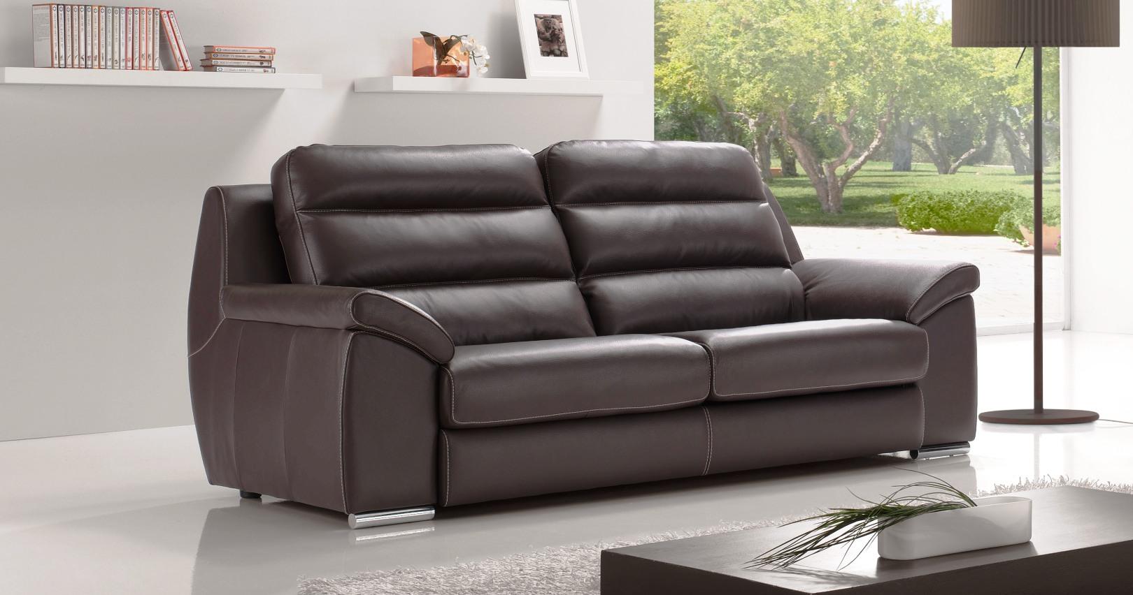 monaco salon 3 2 vachette ou buffle personnalisable sur univers du cuir. Black Bedroom Furniture Sets. Home Design Ideas
