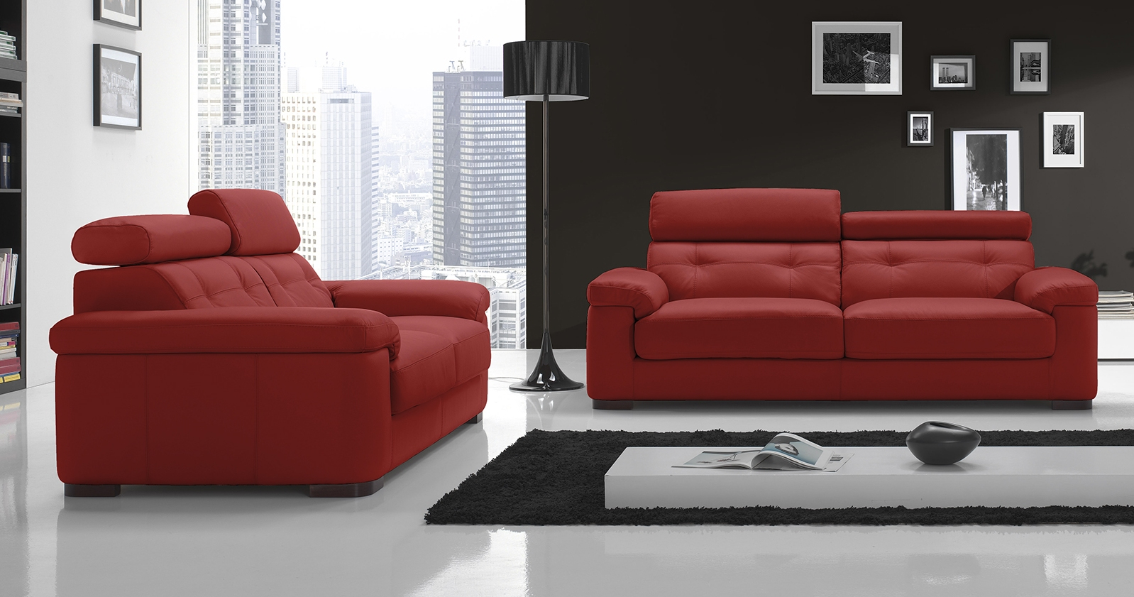 nice salon 3 2 buffle ou vachette personnalisable sur. Black Bedroom Furniture Sets. Home Design Ideas