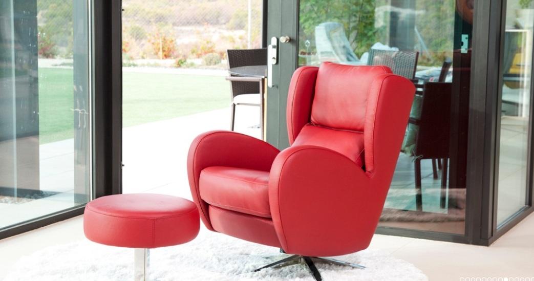 romeo fauteuil relaxation pivotant basculant personnalisable sur univers du cuir. Black Bedroom Furniture Sets. Home Design Ideas
