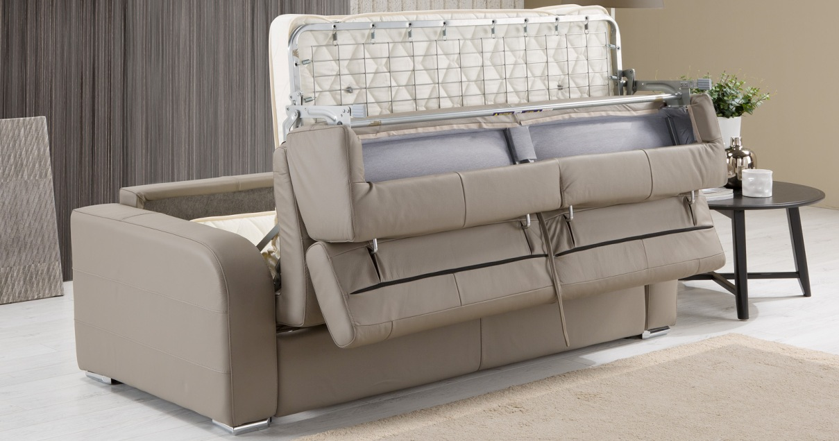 RONDO convertible CUIR express syst¨me FAST BED personnalisable sur