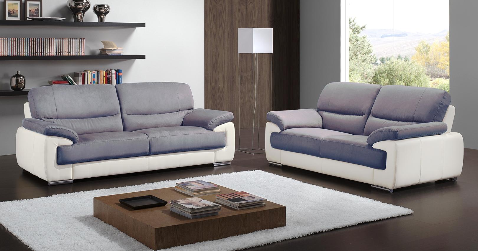 salon 3 2 toulon cuir pr mium et microfibre sur univers du cuir. Black Bedroom Furniture Sets. Home Design Ideas