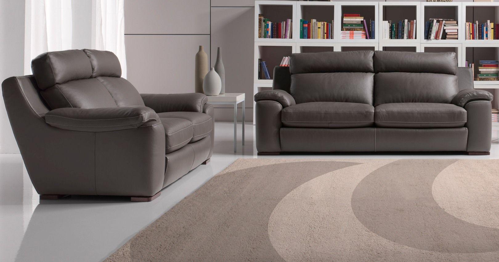 Canapé Cuir Moderne confortable haut dossier sur Univers du cuir
