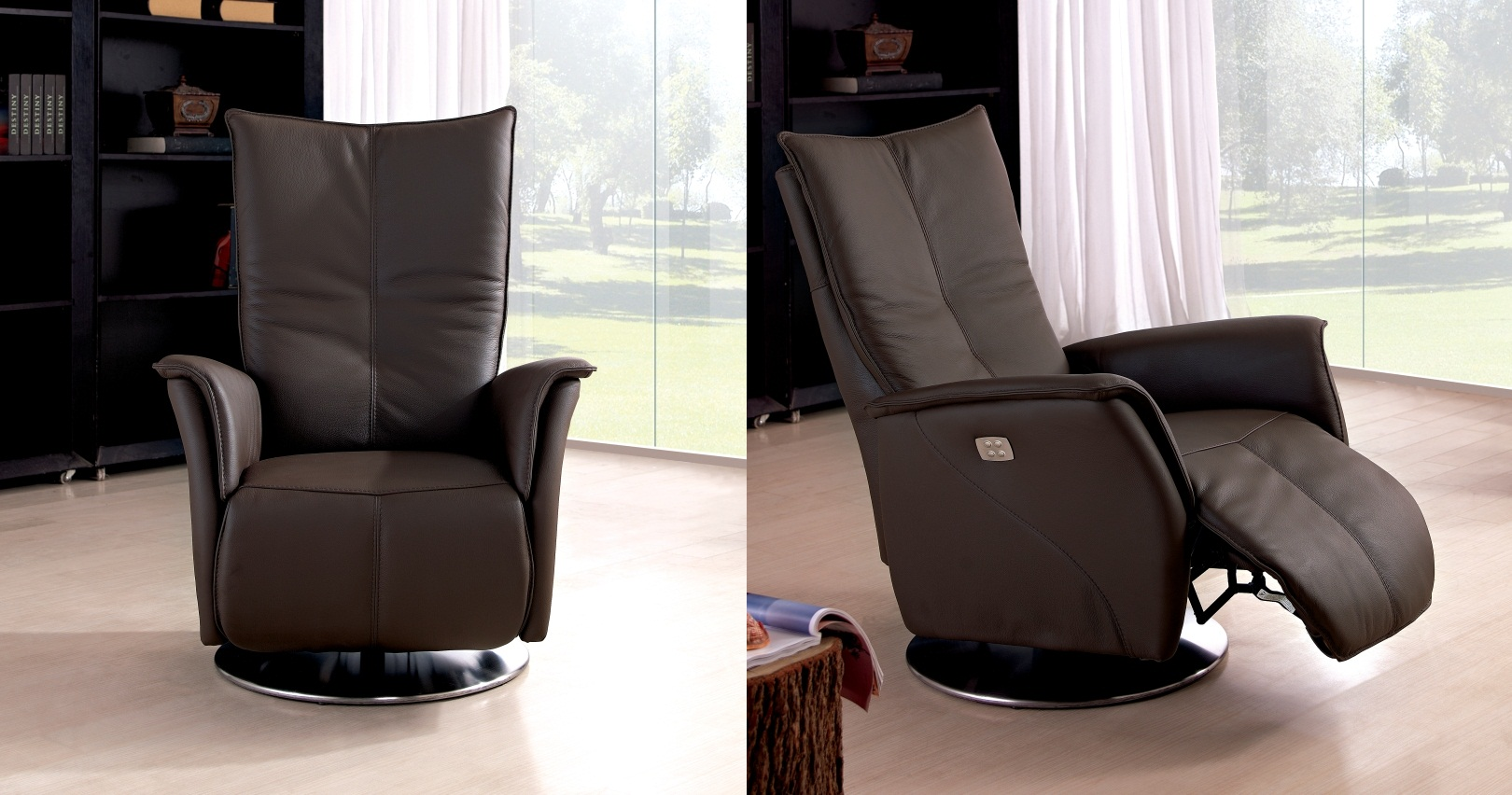 seychelles fauteuil relaxation electrique bi moteur sur univers du cuir. Black Bedroom Furniture Sets. Home Design Ideas