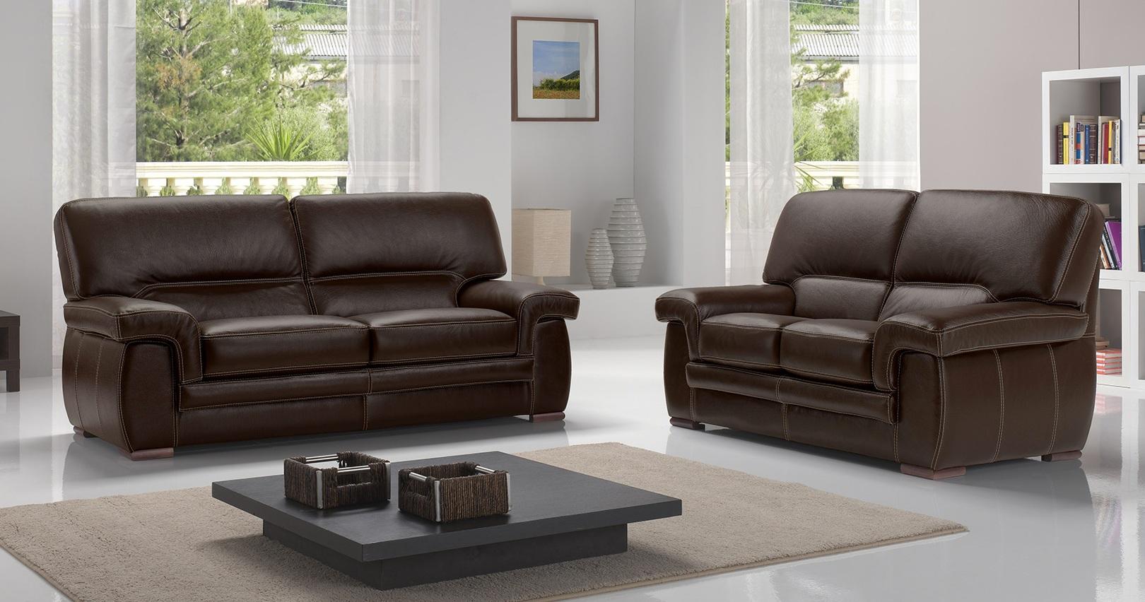 canap cuir buffle ou vachette varese plusieurs coloris au choix. Black Bedroom Furniture Sets. Home Design Ideas