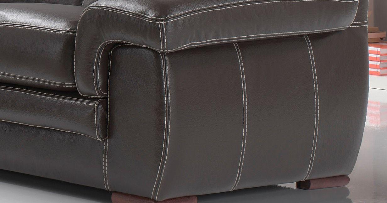 Cuir pièce//Buffle//bastelleder//Désir taille Marron Foncé Véritable Cuir 2-2,5 mm