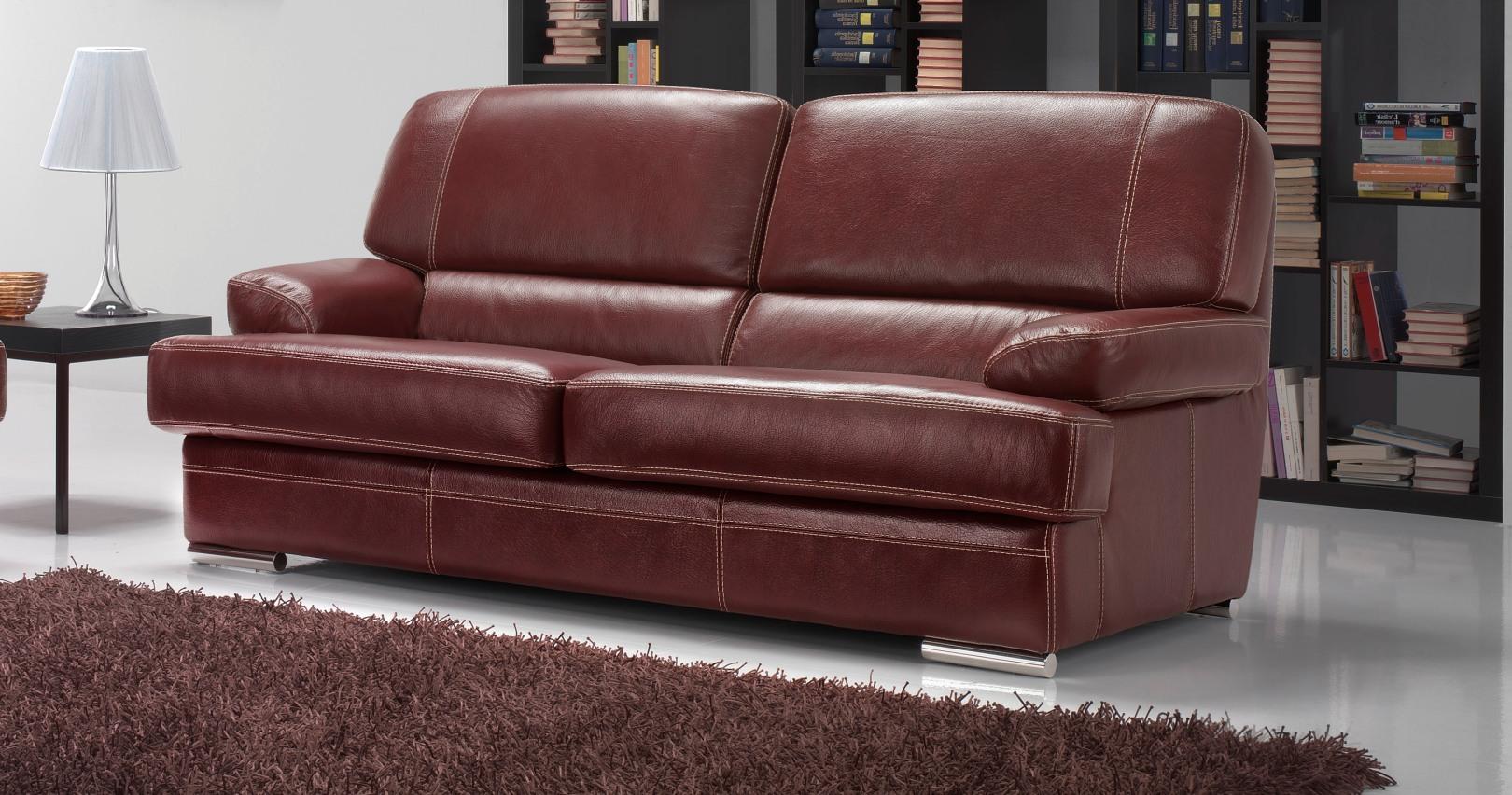 vasto salon 3 2 cuir buffle personnalisable sur univers du cuir. Black Bedroom Furniture Sets. Home Design Ideas
