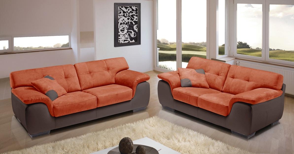 verone salon 3 2 personnalisable sur univers du cuir. Black Bedroom Furniture Sets. Home Design Ideas