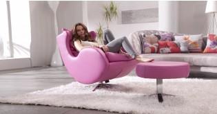 lenny fauteuil pivotant basculant cuir personnalisable sur univers du cuir. Black Bedroom Furniture Sets. Home Design Ideas