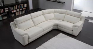 salon angle panoramique cuir saragosse. Black Bedroom Furniture Sets. Home Design Ideas