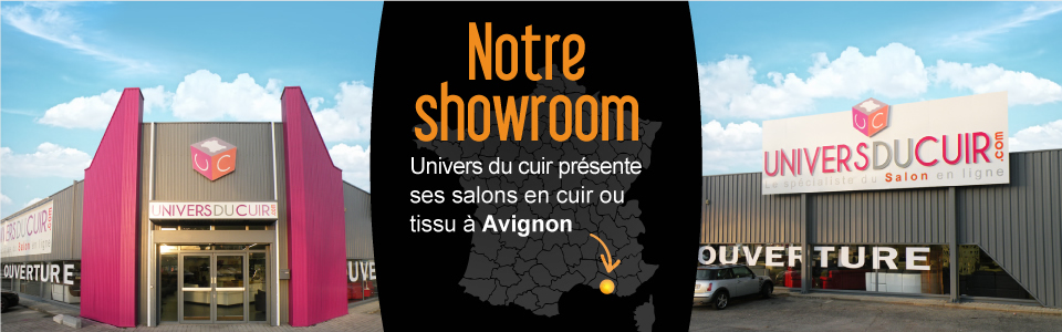 showroom exposition magasin univers du cuir avignon. Black Bedroom Furniture Sets. Home Design Ideas