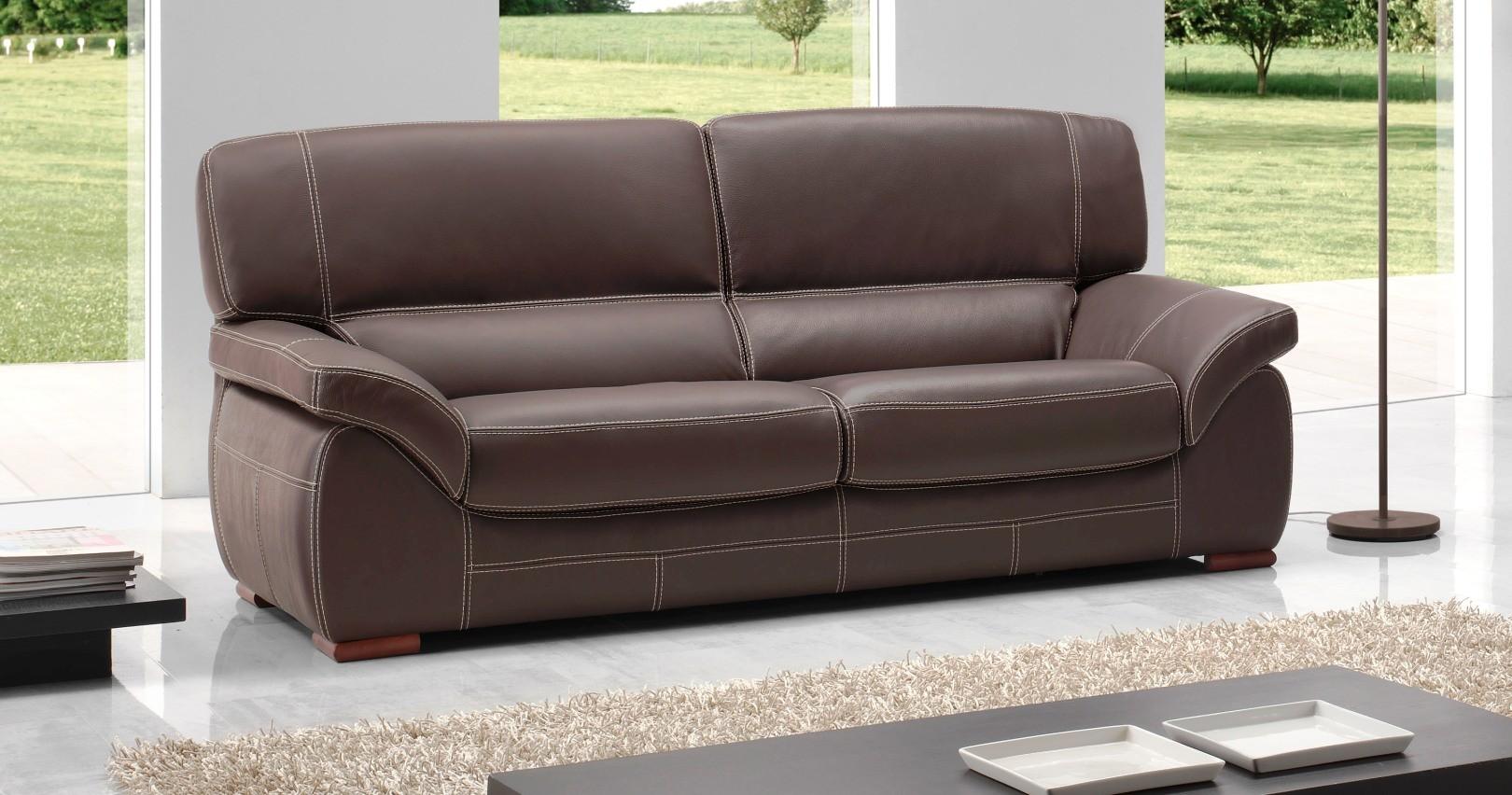 canap angelo personnalisable sur univers du cuir. Black Bedroom Furniture Sets. Home Design Ideas