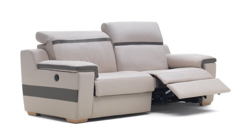 Sp cialiste du canap en cuir canap d 39 angle canap convertible unive - Canape relax electrique italien ...